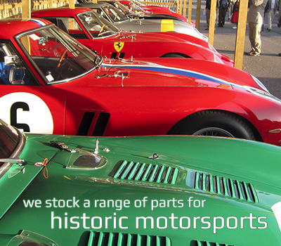 We offer a range of parts for historic motorspots