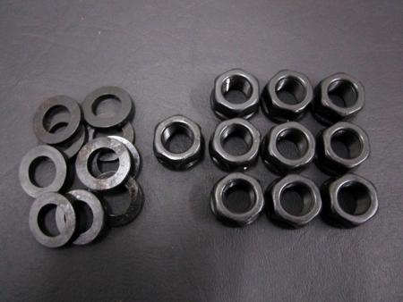 HSR Main stud nuts & washers